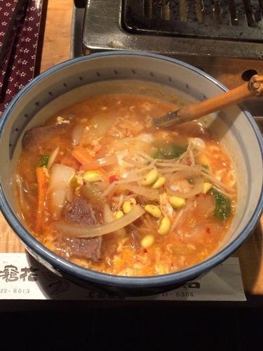 「温麺(小)」@焼肉とお食事 無窮花の写真
