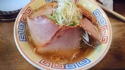 「ネギチャーシュー麺」@餃子と麺 いせのじょう 高架下店の写真