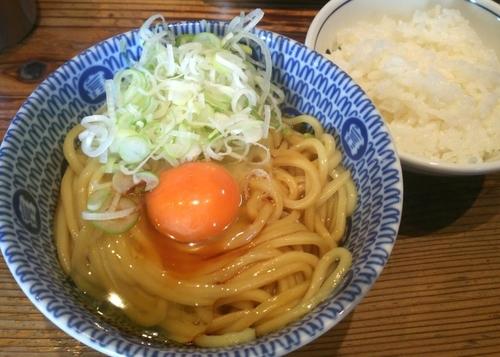 「【朝限定】かまたま(追い飯付き) 500円」@松戸中華そば 富田食堂の写真