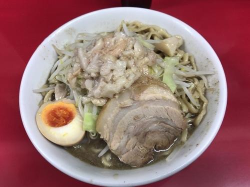 「塩びんにぼ(アブラ)850円」@びんびん豚の写真