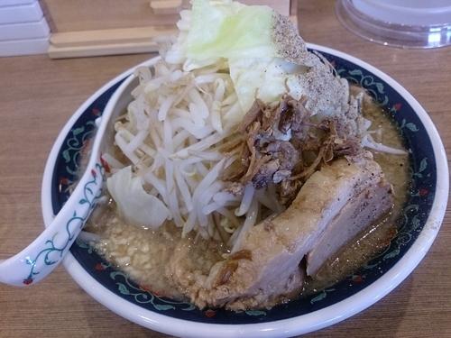「ニボジロー 野菜増 麺大盛」@凌駕 IDÉAの写真
