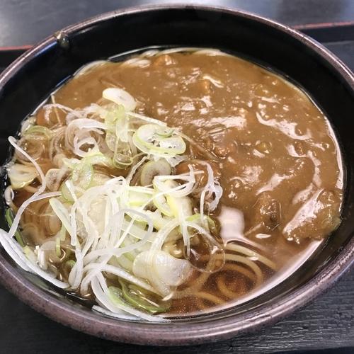 「かけ(¥320)+カレールー(クーポン)」@ゆで太郎 平和島店の写真