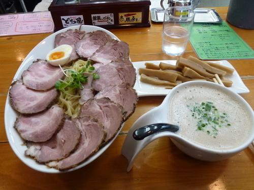 「スーパーつけ麺(中)チャーシューめんまトッピング」@俺のラーメンあっぱれ屋の写真