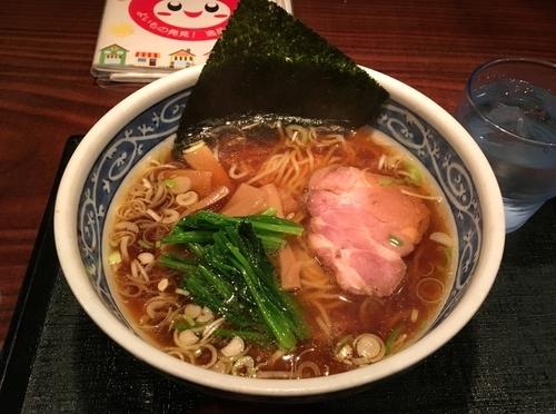 「中華そば・あっさり・細麺」@中華そば・つけそば専門店 一丸の写真
