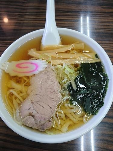 「ラーメン 550円 (手打ち麺)」@手打ちラーメン 足利麺の写真
