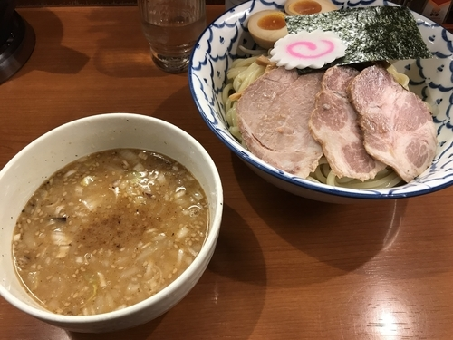 「◯得味噌つけめん 中盛」@麺恋処 いそじの写真
