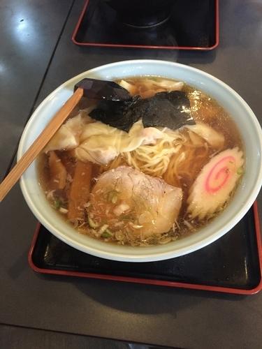 「ワンタン麺 (並)  620円」@中華料理 宝徳軒の写真