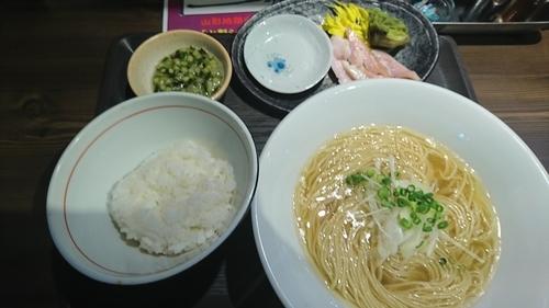 「【阿部限定】山形地鶏の塩そば ¥ 950」@つけ麺 一燈の写真