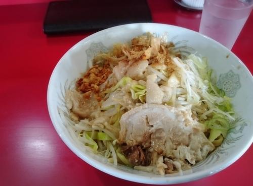 「まぜ 700円」@蒙麺 火の豚の写真