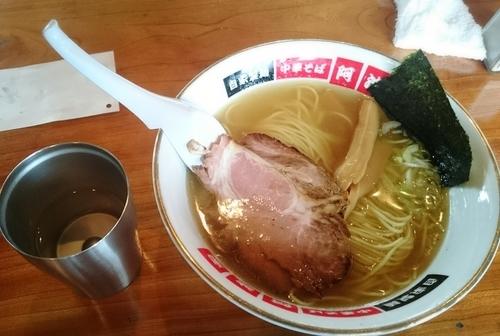 「塩ラーメン」@中華そば 阿波家の写真