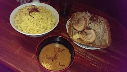 「辛みそつけ麺、大盛」@豪徳寺ラーメン りらくしんの写真
