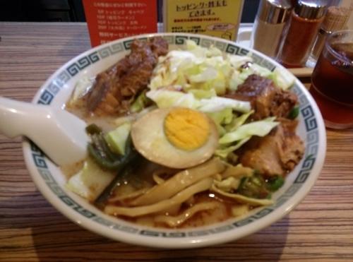 「太肉麺」@くまもと桂花ラーメン ふぁんてんの写真