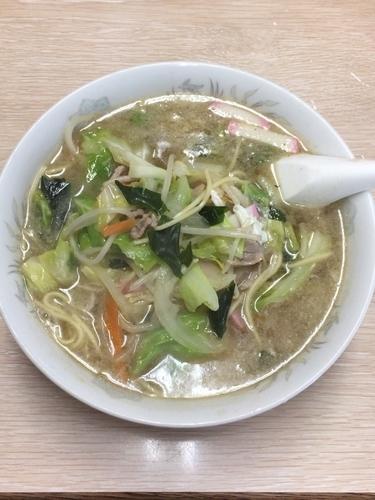 「チャンポン」@お食事処 冨士食堂の写真
