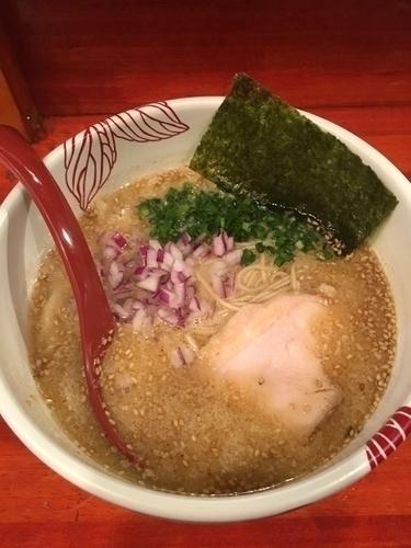 「「4/28限定」ごま豆乳白湯 (醤油) ¥800」@麺処 あす花の写真