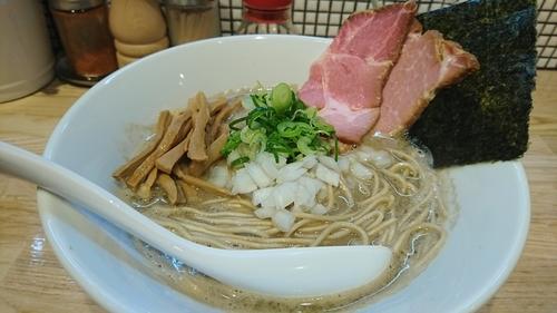 「煮干しラーメン ¥ 780」@らーめん 改の写真