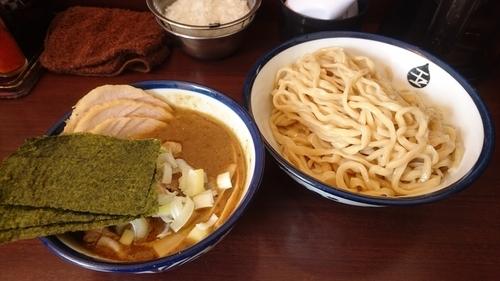 「インドのつけ麺(中)+肉増し」@つけめん 玉の写真