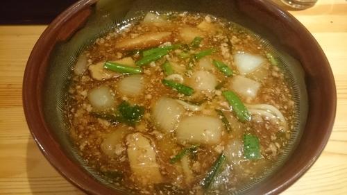 「雷々麺(700円)+小ライス(50円)」@あたりや食堂の写真