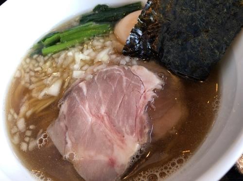 「煮干チャーシューそば」@陽はまたのぼるの写真