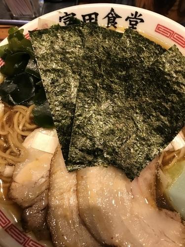 「特製中華そば」@松戸中華そば 富田食堂の写真