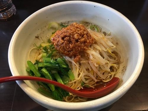「汁なし坦々麺」@めだかTANTANの写真
