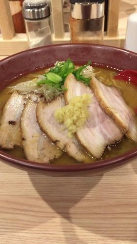 「3枚チャーシュー焼き味噌(チャーシュートッピング)」@拉麺 大公の写真