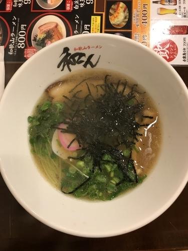「元祖白浜ラーメン 800円」@和んの写真