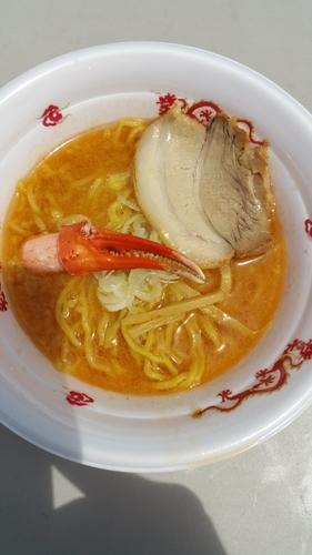 「伝承蟹味噌らぁめん」@大つけ麺博 presents 最強ラーメンFes,の写真