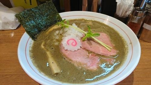 「銀の煮干しそば ¥ 780」@煮干中華そば 鈴蘭 中野店の写真