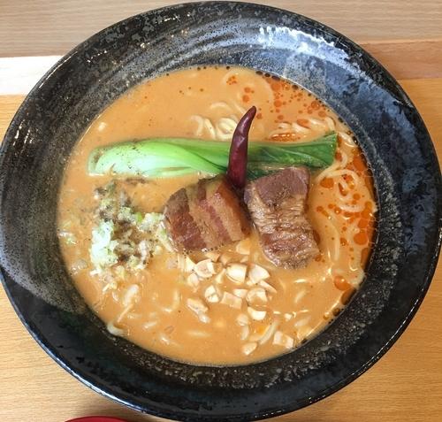 「濃厚クリーミー担担麺」@麻婆家の写真