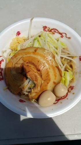 「雷そば」@大つけ麺博 presents 最強ラーメンFes,の写真