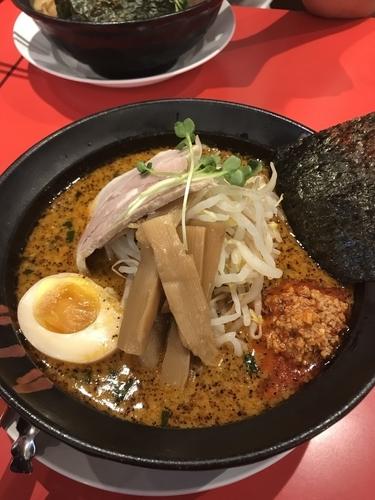 「辛味噌ラーメン 3辛」@ラーメン雷豚 鴻巣店の写真