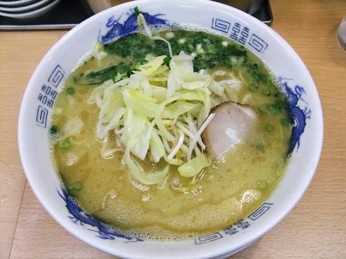「朝ラー(440円)」@拉麺男の写真