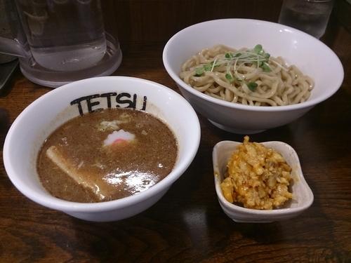 「強つけめん+味あぶら」@つけめんTETSU 千駄木本店の写真