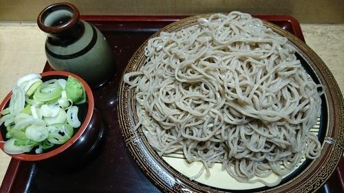 「石臼挽き特盛もりそば(3玉) 560円」@そば新 御茶ノ水店の写真