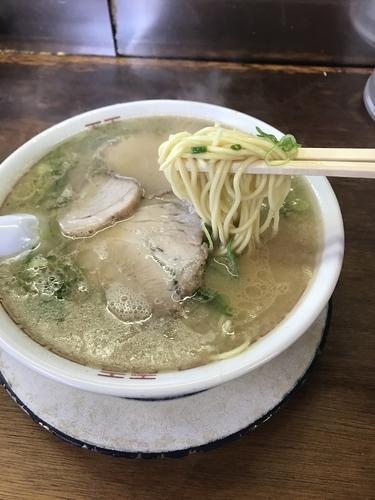 「ラーメン カタ 600円」@ふくちゃんラーメンの写真