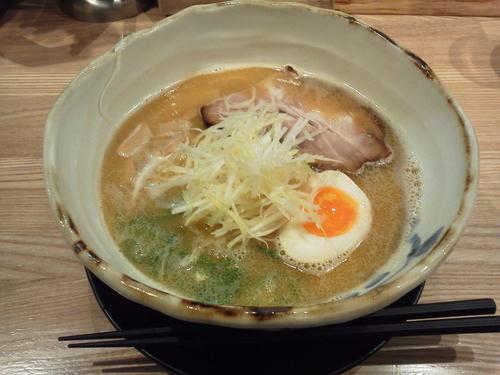 「煮干し香るらぁめん 680円」@麺匠 たか松 四条店の写真