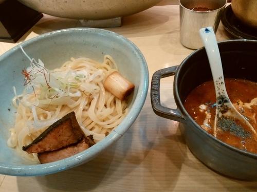 「トマトつけ麺」@麺や 高倉二条の写真