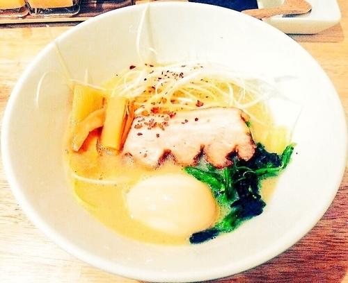 「鶏ポタ」@麺屋三喜の写真