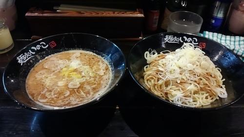 「柚子胡麻つけ麺中盛り ¥800」@麺処いのこ 赤塚店の写真
