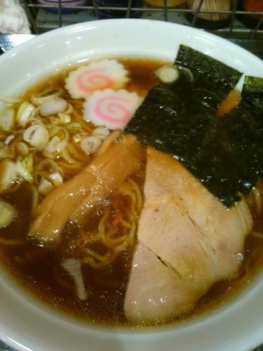 「E.おいしい醤油、細」@らーめん山猫亭の写真