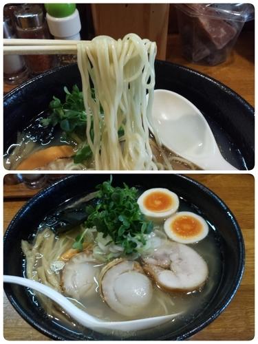 「【春季限定】ホタテそば750円」@麺屋 鶏口の写真