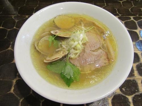 「限定 淡麗蛤そば(850円)+チャーシュー丼」@特級鶏蕎麦 龍介の写真
