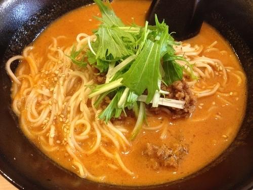 「特製担々麺(中辛)」@日本橋焼餃子 東陽町店の写真