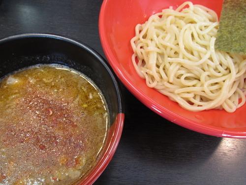 「海老つけ麺(並盛) 「800円」」@マグマラーメン 越谷店の写真