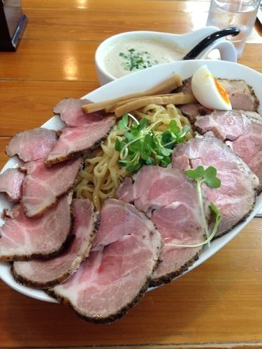 「スーパーつけ麺 特大 チャーシューマシ」@俺のラーメンあっぱれ屋の写真