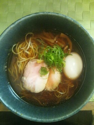「あじ玉醤そば」@らぁ麺や 汐そば雫の写真