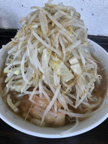 「60ラーメン野菜マシカラメ¥700 豚3枚170円」@らーめん虎丸の写真