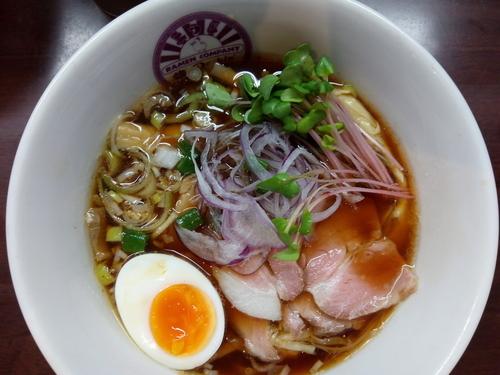 「【限定】TORICO+レアチャーシュー増」@麺のようじの写真