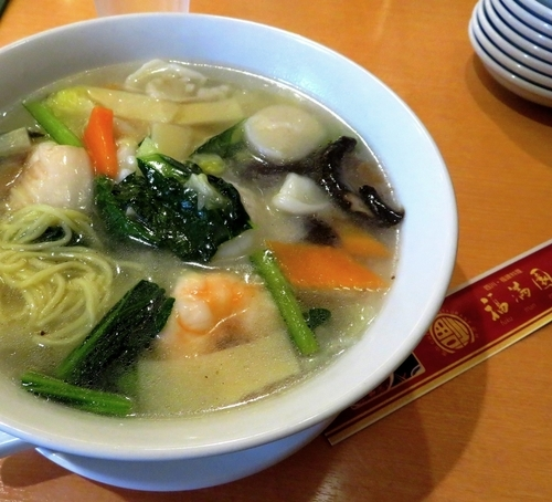「海鮮湯麺(1,080円 税込)」@福満園 本店の写真