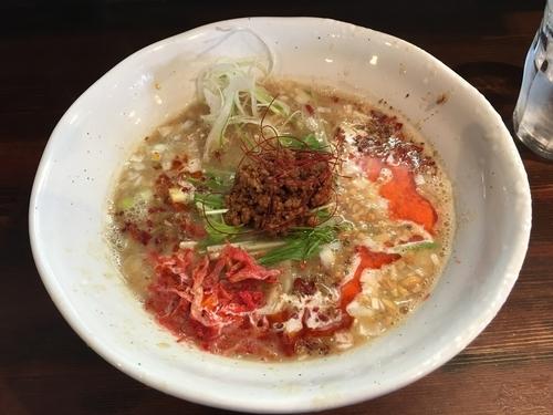 「担々麺〜シノアstyle〜」@麺屋 さんじの写真